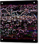 Wet Steel Funky Acrylic Print