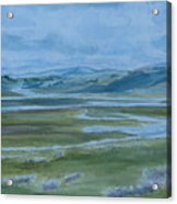 Wet Summer In Big Sky Country Acrylic Print