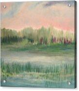 Wetland Solitude Acrylic Print