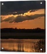 Wetland Sunset Acrylic Print