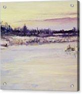 Wetland Winter Acrylic Print