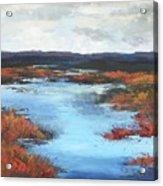 Wetlands Of Washington Acrylic Print