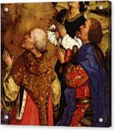 Weyden Bladelin Triptych  Right Wing  Acrylic Print