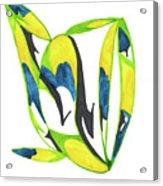 Whale Flow Acrylic Print