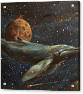 Whale Of The Universe Acrylic Print