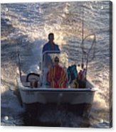 Whaler Acrylic Print