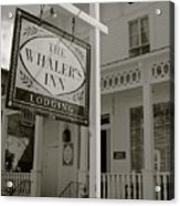 Whaler's Inn Acrylic Print