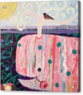 Whale's Tale The Beginning Of The End Acrylic Print