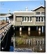Wharf At Jekyll Island Acrylic Print
