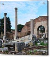 Basilica Aemilia Acrylic Print