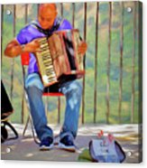 What's That Tune? Acrylic Print