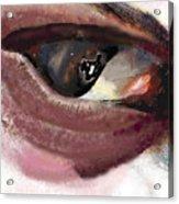 What The Eye Tell's Acrylic Print