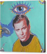 What Would Captain Kirk Do Acrylic Print