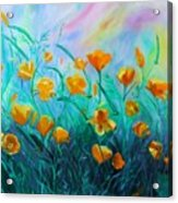 What'a Up Buttercup? Acrylic Print