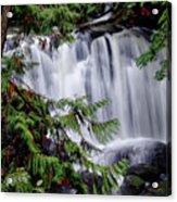Whatcom Falls Cascade Acrylic Print