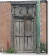 What's Behind The Doors Acrylic Print