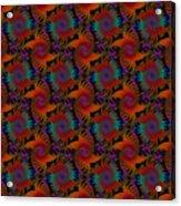 Wheatsheaf Windmill Rust Acrylic Print