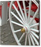 Wheel Motion Acrylic Print