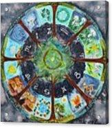 Wheel Of The Year Acrylic Print