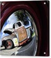 Wheel Reflections Acrylic Print