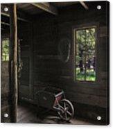 Wheelbarrow In The Light Acrylic Print