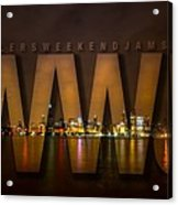 Wheelers Weekend Jams-live And Direct Acrylic Print