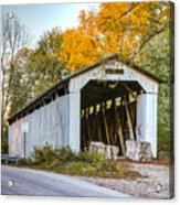 Wheeling Covered Bridge Acrylic Print