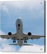 Wheels And Flaps Down Acrylic Print