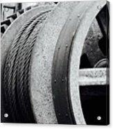 Wheels And Pulleys  Acrylic Print