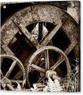 Wheels Of Time Acrylic Print