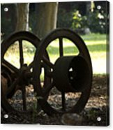 Wheels Of War-spanish American War Artifacts Acrylic Print