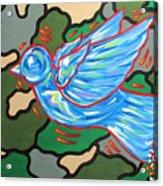 When Doves Cry Acrylic Print
