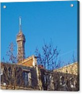 When In Paris - Look Up Acrylic Print