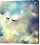 When Sleeping In The Clouds Acrylic Print