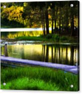 When Summer Glows And Crickets Chirp  Acrylic Print