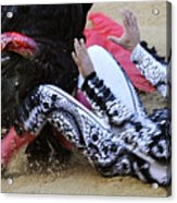 When The Bull Gores The Matador IIi Acrylic Print