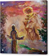 when the Lord called Moses Acrylic Print