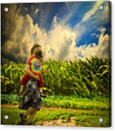 When The Sun Comes After Rain Acrylic Print