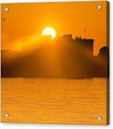 When The Sun Sets Acrylic Print