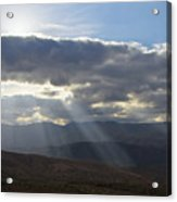 When Your Light Shines Acrylic Print
