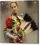 Pow Wow Where Are You Now Acrylic Print