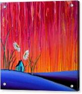 Where Flowers Bloom Acrylic Print by Cindy Thornton