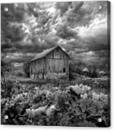 Where Ghosts Of Old Dwell And Hold Acrylic Print