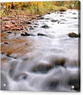 Where Peaceful Waters Flow Acrylic Print