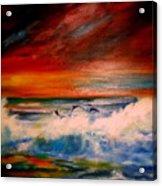 Where Sailfish Play Acrylic Print
