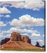 Where The Earth Meets The Sky Acrylic Print