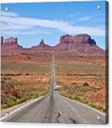 Where The Road Leads Acrylic Print