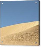 Where The Sand Meets The Sky Acrylic Print