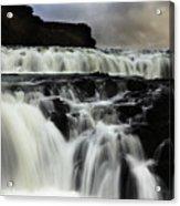 Where The Water Falls Acrylic Print