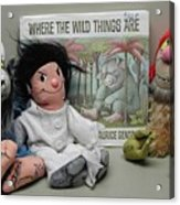 Where The Wild Things Are Acrylic Print